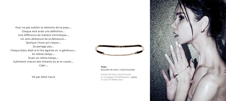 Bracelet de main PEAU